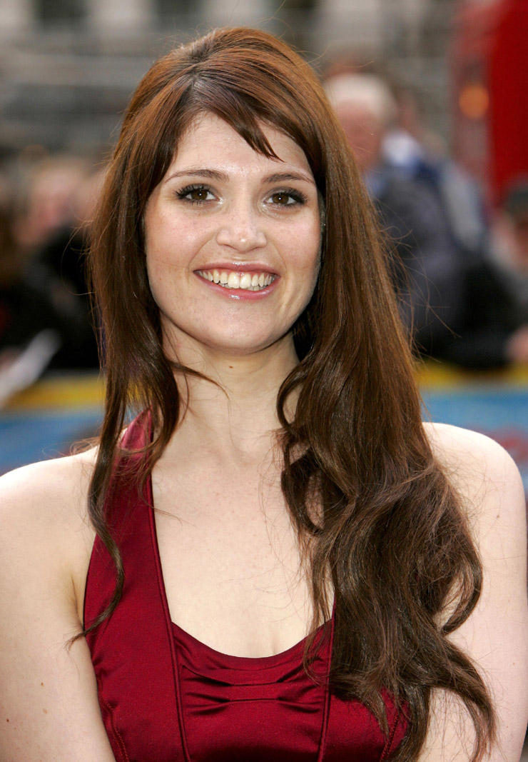 Gemma Arterton Long Hair Beauty Smile Photo