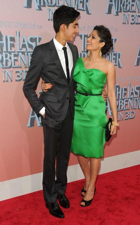 Dev Patel and Freida Pinto On Red Carpet