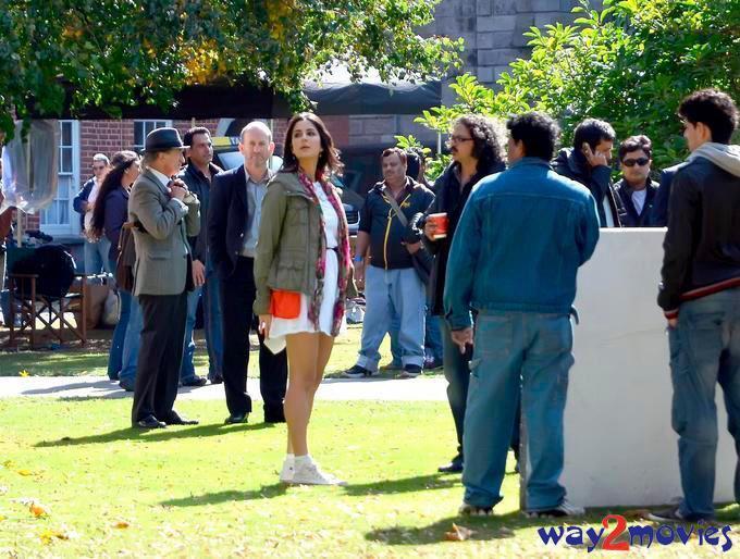Katrina Kaif On The Sets Of Ek Tha Tiger