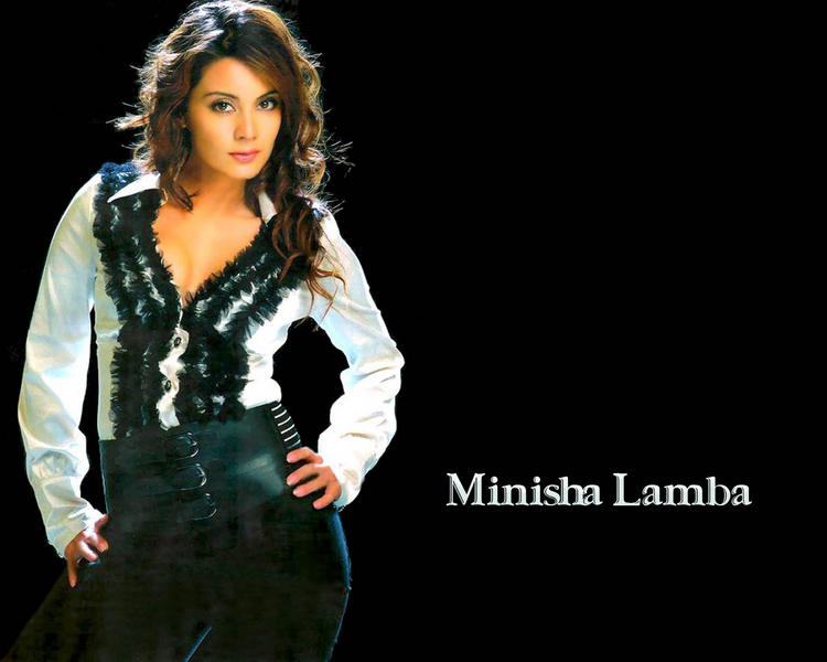 Minisha Lamba Hot Sexy Look Wallpaper