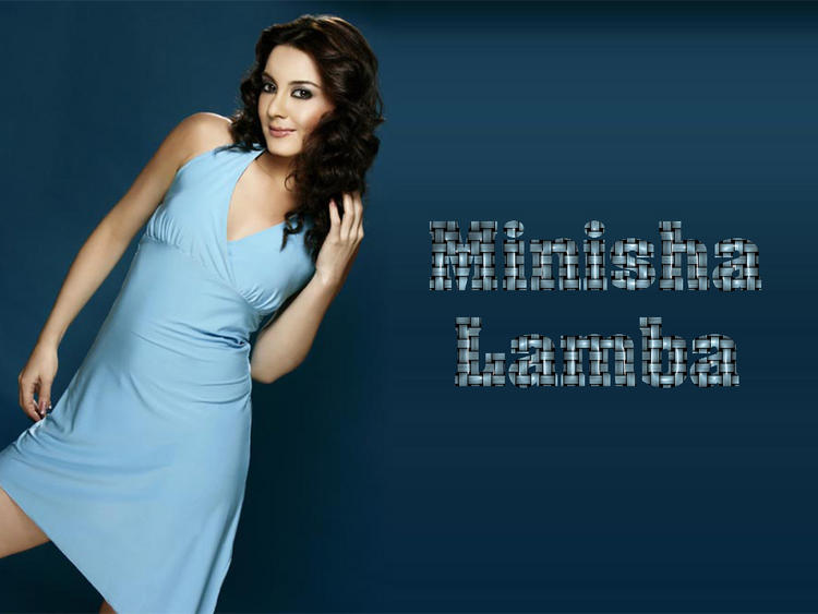 Minisha Lamba Latest Hot Wallpaper