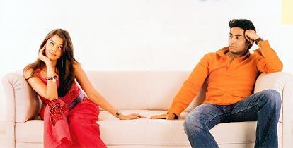 Abhishek and Aishwarya Rai in Kuch Na Kaho