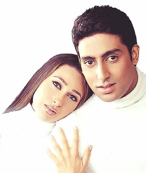 Abhishek and Karishma Romantic Film Pic