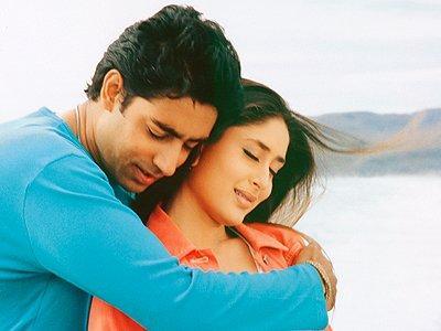 Abhishek and Kareena in Mein Prem ki Deewani Hoon