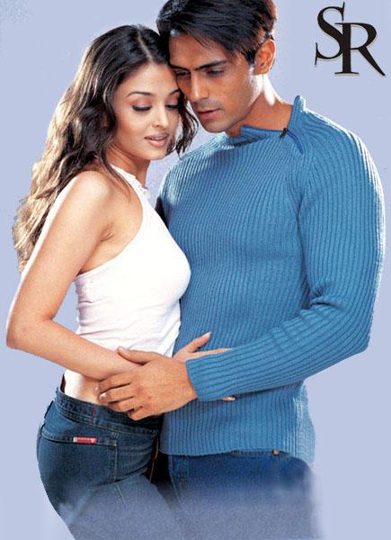 Arjun and Aishwarya Latest Romancing Wallpaper