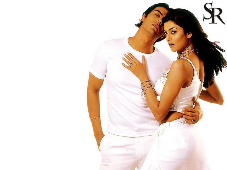 Arjun Rampal and Sushmita Hot Gorgeous Wallpaper