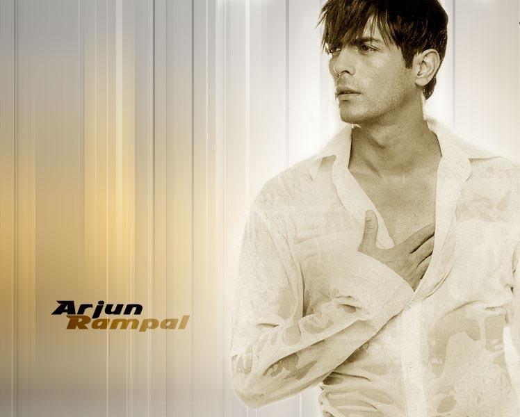 Arjun Rampal White Shirt Wallpaper