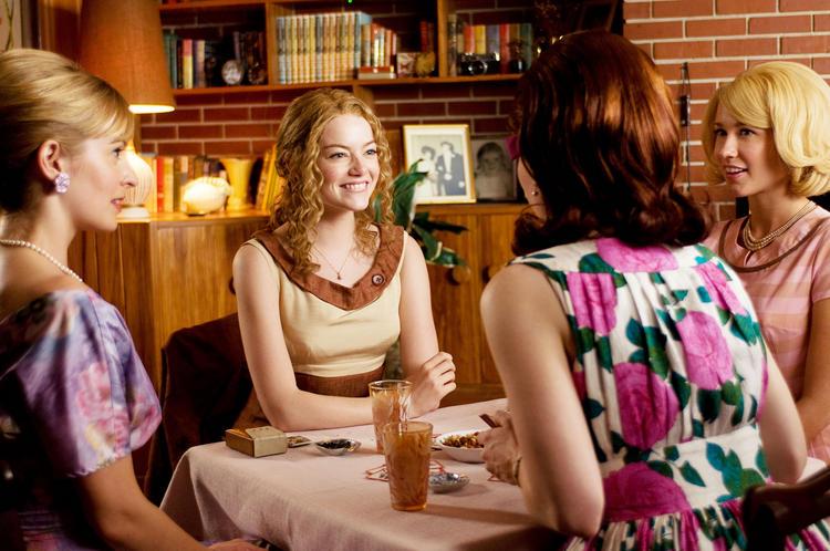 The Help Movie Emma Stone Party Photo