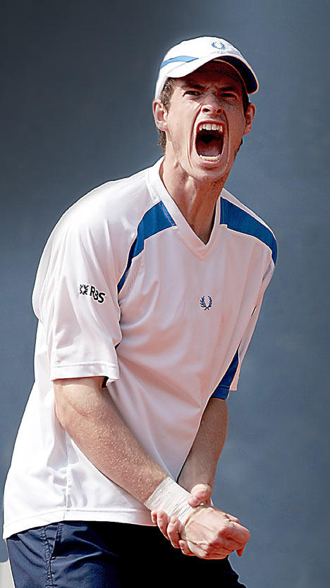 British Number One Tennis Star Andy Murray Still