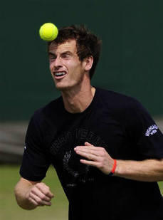 British Tennis Champion Andy Murray Pic
