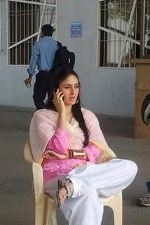 Kareena Kapoor Bodyguard Movie Shooting Photo