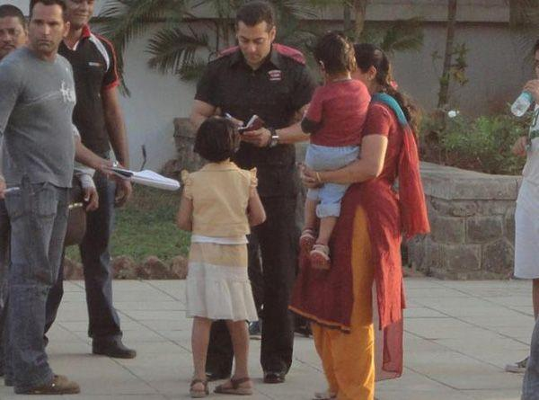 Salman Khan Bodyguard Movie Shooting Photo