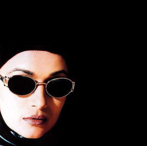 Madhuri Dixit Wearing Goggles Hot Face Wallpaper