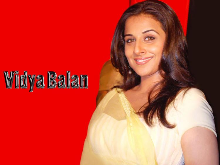 Vidya Balan Sweet smile Gorgeous Wallpaper