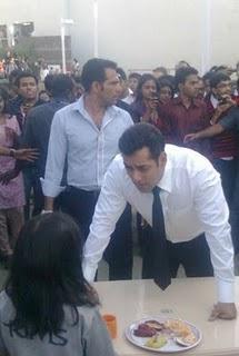 Salman Khan at Bodyguard Movie stills