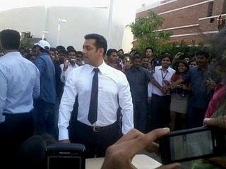 Salman Khan looking handsome at Bodyguard Movie stills