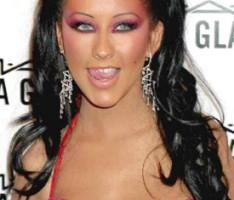 Christina Aguilera Latest Cute Glamour Still