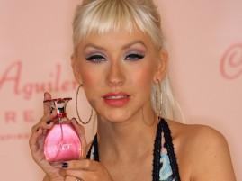 Christina Aguilera Perfume Launch Still