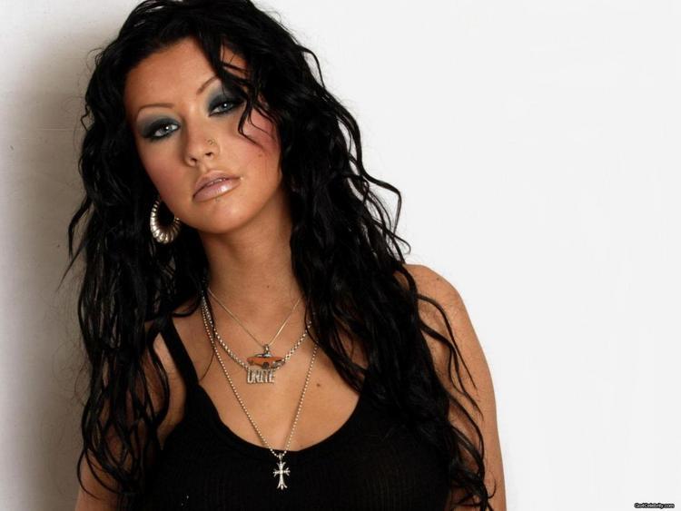 Hollywood Pop Singer Christina Aguilera Still
