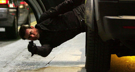 Tom Cruise Fight Still in Mission Impossible 4