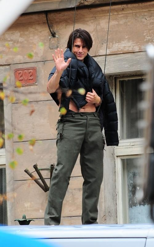 Tom Cruise Cute Still in Mission Impossible 4