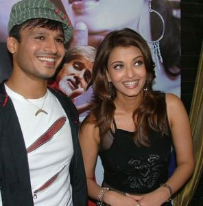 Aishwarya Rai and Vivek Oberoi Beauty Smile Pic