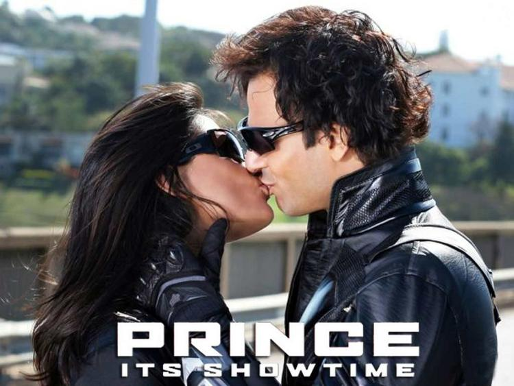 Vivek Oberoi Prince Movie Kiss Still
