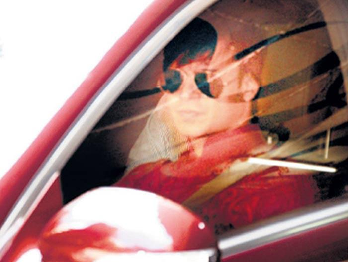 Vivek Oberoi in Car