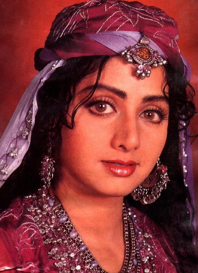 Beautiful look of Sridevi
