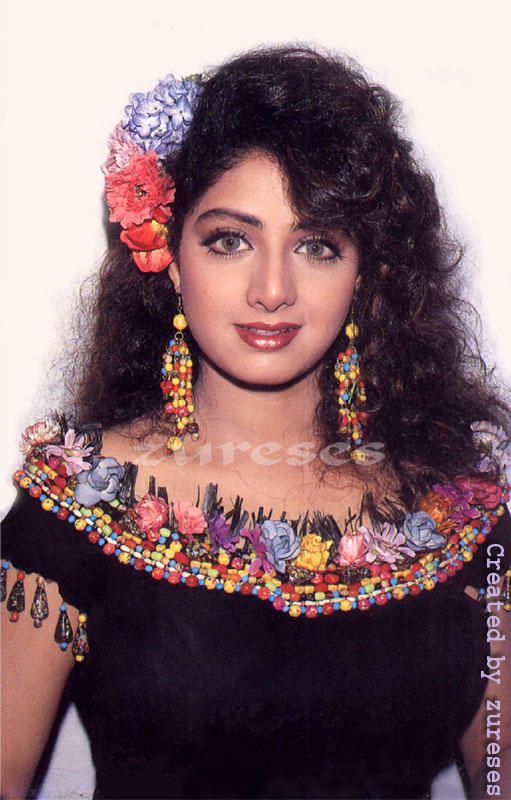 Sri Devi cute hot look