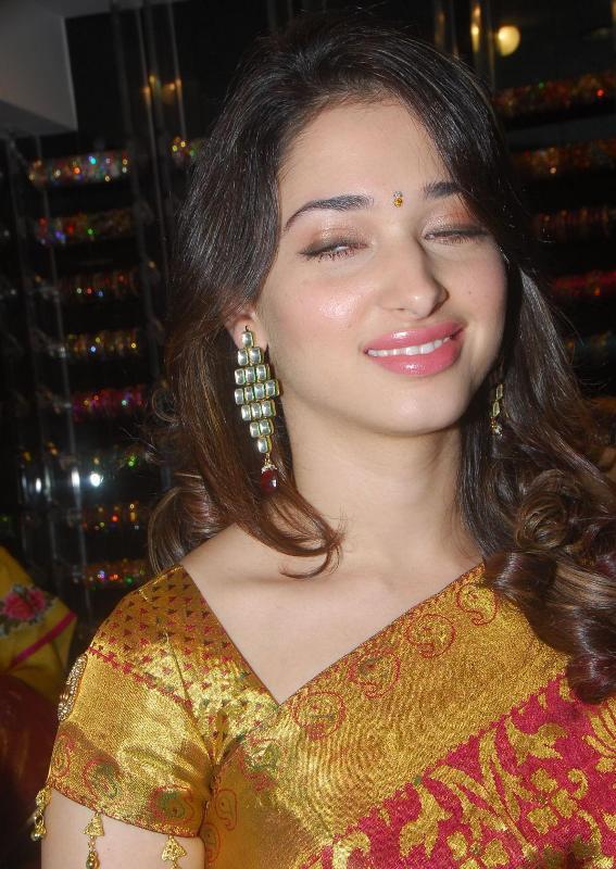 Tamanna At Womans World Launch