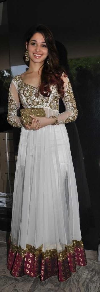 Tamanna Bhatia Long Dress Beauty Still