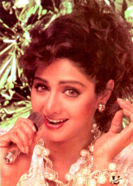 Singer pic of Sridevi