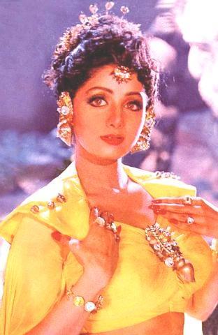 Sridevi's Dance pose