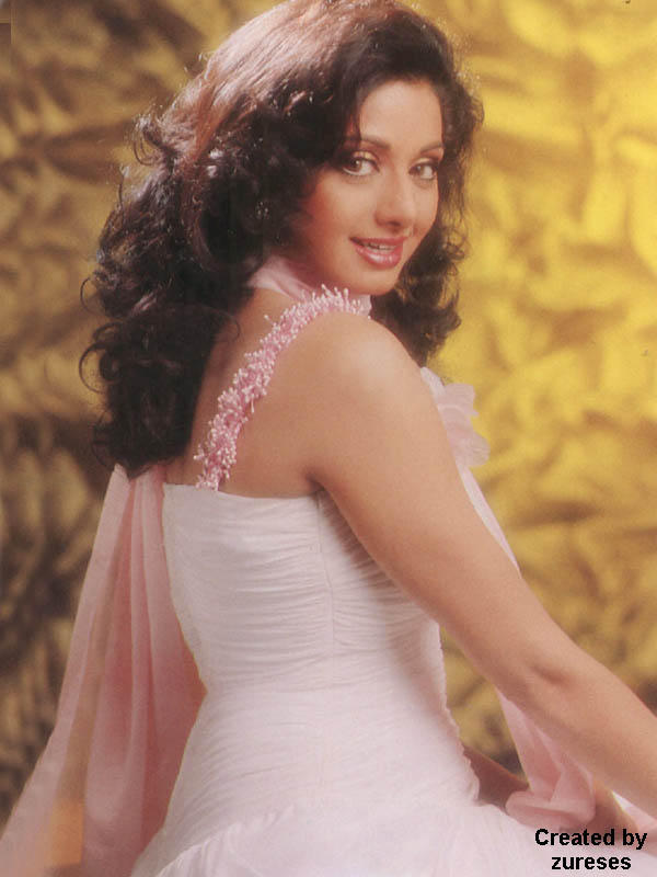 Sri Devi looking hot in this dress