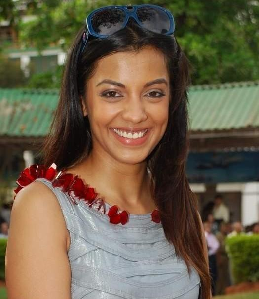 Mugdha Godse Gorgeous Smile Pic at Gladrags CN Wadia Cup