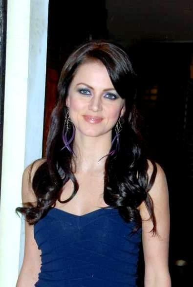 Yana Gupta Blue Sleeveless Dress Still