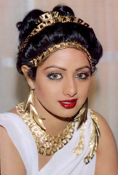 Sridevi's glazing eyes look