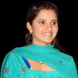 Sania Mirza Beauty Smile Pic