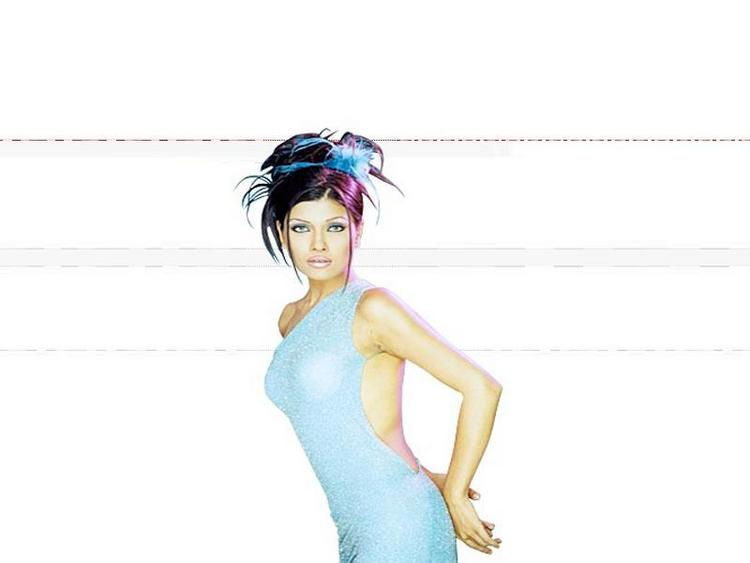 Koena Mitra in backless dress