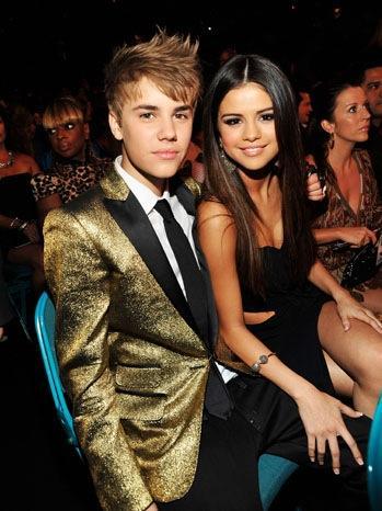 Justin Bieber and Selena Gomez Glamour Still