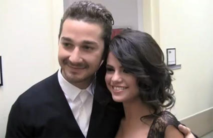Selena Gomez and Shia LaBoeuf Still