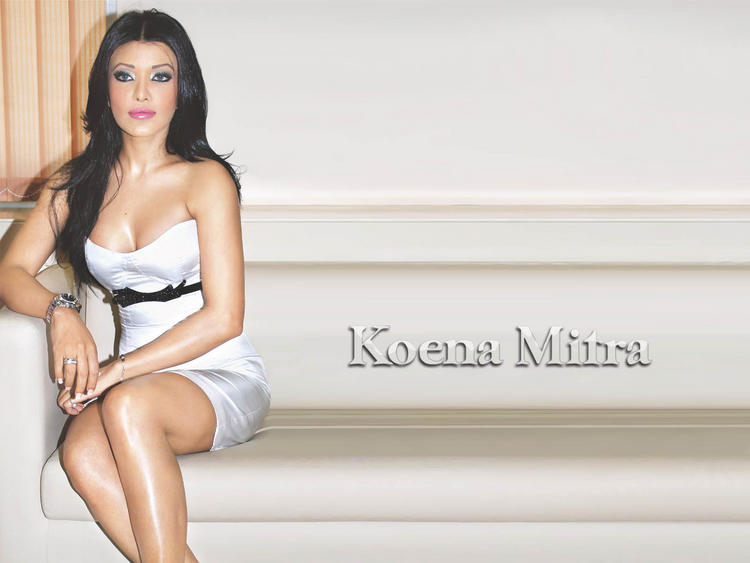 Koena Mitra look sexy in this dress