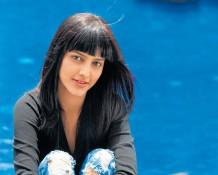Shruti Hassan with cute smile