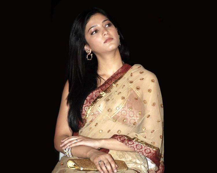 Shruti Hassan in amazing saree