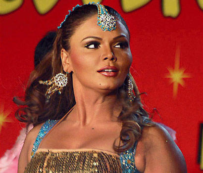 Item girl Rakhi Sawant with a new classy twist