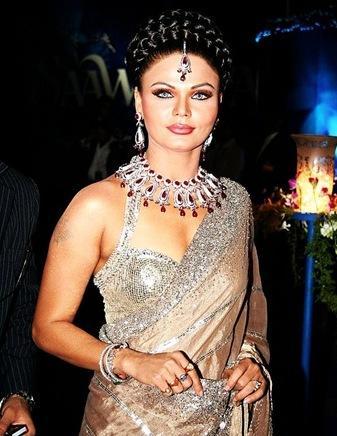 Rakhi Sawant in amazing saree