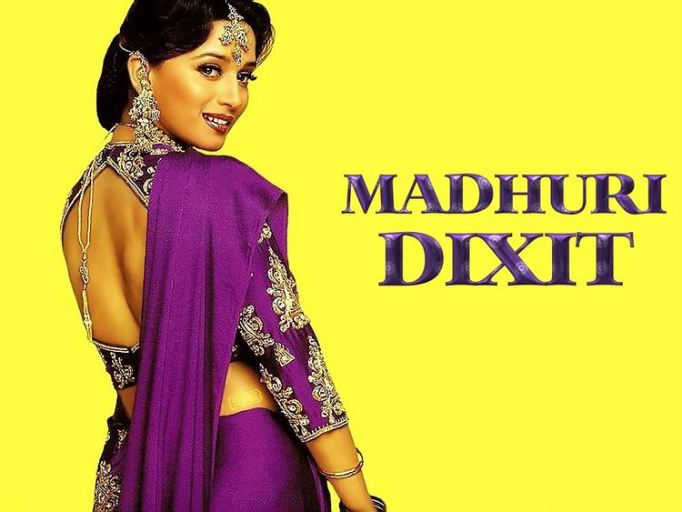 Madhuri Dixit cute smile wallpaper