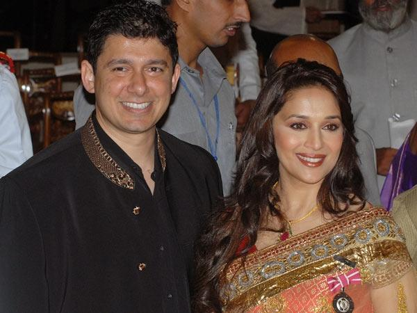Madhuri Dixit and Shriram Nene