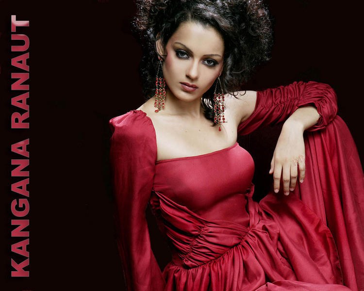Kangana Ranaut red hot wallpaper